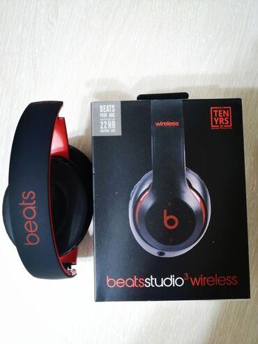 аккумуляторы для ибп prologix в Кыргызстан: Беспроводные наушники Beats studio 3В двух расцветках: Чёрный+Красный