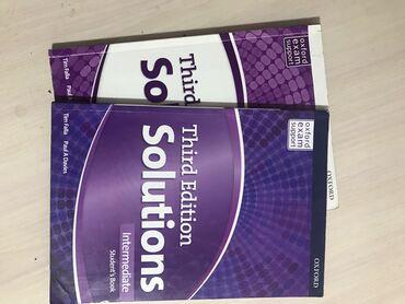 english home бишкек in Кыргызстан   КИТЕПТЕР, ЖУРНАЛДАР, CD, DVD: Solutions Ofxord Third edition level: intermediate есть и Student