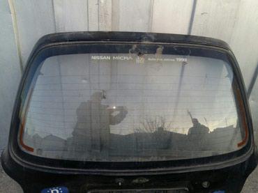 ниссан-микра-бишкек в Кыргызстан: Заднее стекло на Ниссан Микра 1990г