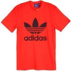 Футболки, Adidas, красного цвета, в наличии размер m,l. Очень