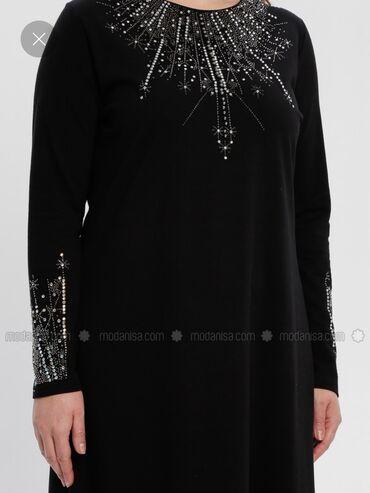 шикарное вечерние платье в Кыргызстан: Вечернее шикарное платье Турция размер XL-2XL