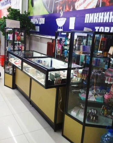 Продаю витрины 6шт: 2шт ромбовые, 2шт в Бишкек