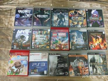 Bakı şəhərində Sony Playstation 3 Oyunları