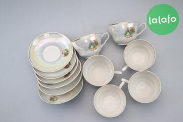 196 объявлений | ДОМ И САД: Набір чайного посуду з дизайном    Діаметр чашки: 10 см Діаметр тарілк