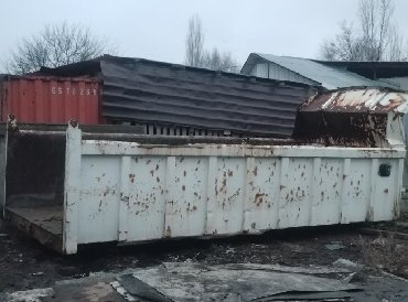 Кузов на самосвал в комплекте идёт в Бишкек