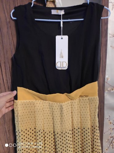 летнее платье свободного кроя в Кыргызстан: Новое платье. Летняя как на повседневку так и для мероприятия