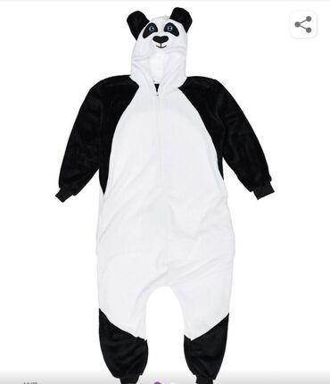 Кигуруми панда размер 46-48 новый заказывали не подошёл размер цена