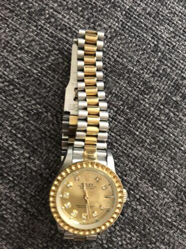 chasy rolex mehanika в Кыргызстан: Золотистые Женские Наручные часы Rolex