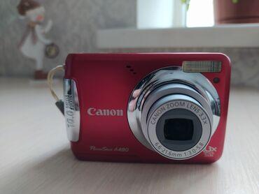 Карты памяти advance для видеокамеры - Кыргызстан: Фотоаппарат Canon Powershot A480 digital camera, 10 мегапикселей, 3.3