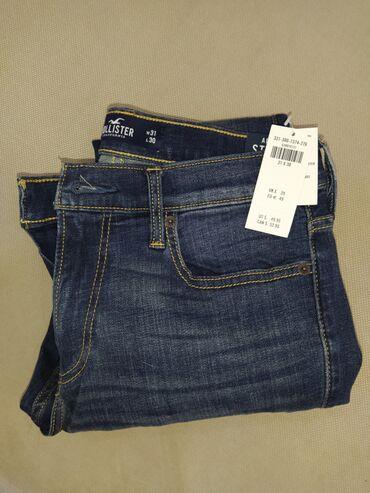 super stilnaja в Кыргызстан: Продаю мужские джинсы Hollister.1.Синие - Advanced Stretch, Extreme