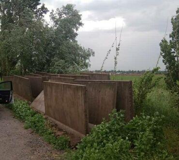 Г или L образная бетонная плита для прудов, каналов и загонов, длина 3