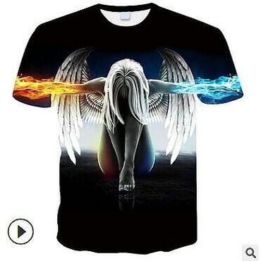 Модные,стильные футболки с 3Д принтом. Новинка в Бишкеке! Унисекс. В