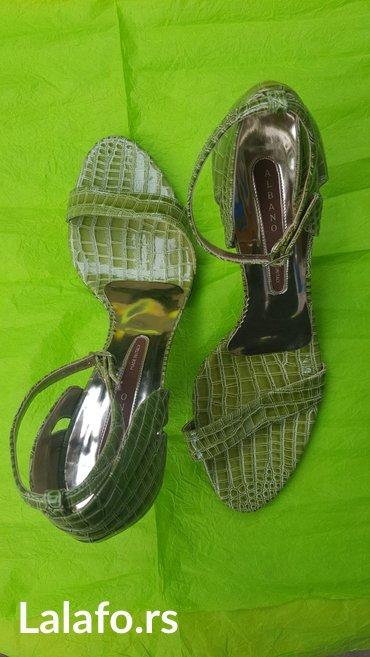 Italijanske kozne cipele,nošene jednom,nove!! Broj 40 - Novi Banovci