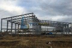 гараж из сендвич панелей в Кыргызстан: Изготовление и монтаж металлоконструкций с сендвич панелями