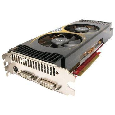 Электроника - Ноокат: Игровая видеокарта DDR3, 2ГБ, 512бит. Nvidia GeForce GTX 285. 3500сом