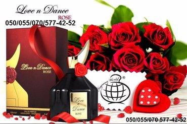 Bakı şəhərində Love n Dance Rose De Parfum qadın ətirləri
