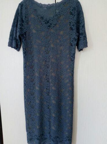 Haljine   Bogatic: Cipkana haljina nezno plave boje. Univerzalna velicina. Jer se