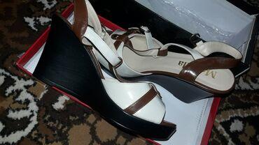 Женская обувь в Кант: Женские туфли на танкетке 35 размер Новые Не ношенные