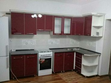 доставка кухонной мебели в Кыргызстан: Кухонные гарнитуры, погонный метр по 10000сом-Корпусная мебель на