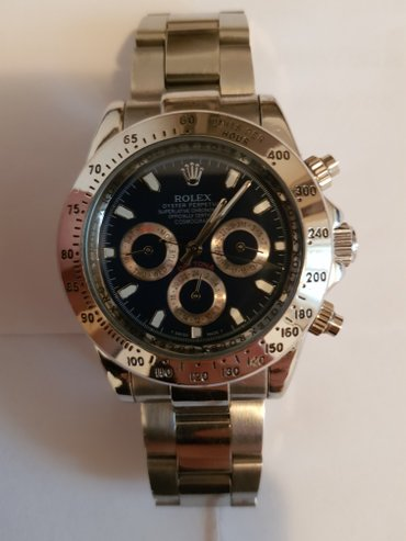 Aaa replica rolex 1992 winner 24 daytona 116503 silver dial watch.   - Beograd