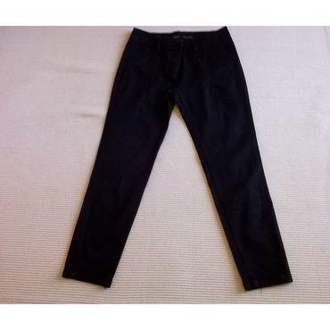 36 - Ελλαδα: Παντελόνι Zara Basic μαύρο - Μέγεθος S / Eur 36 - Μέση 84