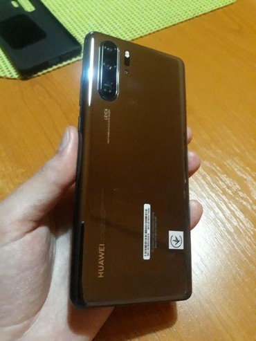 Huawei P30 Pro Black full box, 22 months guarantee, dual sin