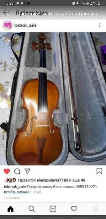 Скрипки в Кыргызстан: Скрипка
