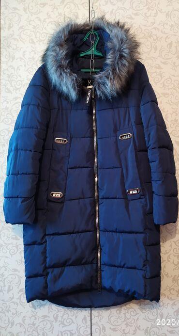 Куртки - Лебединовка: Пальто-куртка длина до колен, б/у отличное состояние, размер 48-50
