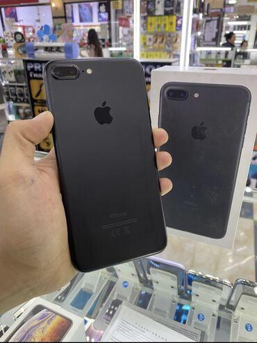 айфон 7 цена in Кыргызстан   APPLE IPHONE: IPhone 7 Plus   32 ГБ   Черный Б/У   Гарантия