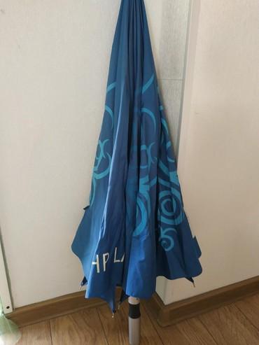 зонт в Кыргызстан: Семейный зонт длина 70х95 три спицы сломаны можно отремонтировать