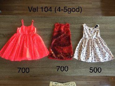 Decije haljine - Indija: Haljine za devojcice 4-5 god
