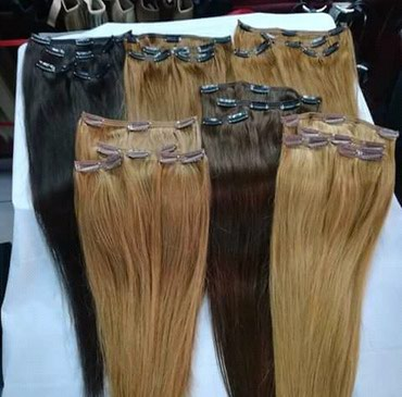 Umetci za kosu na klipse u svim bojama i nijansama.Za više - Belgrade