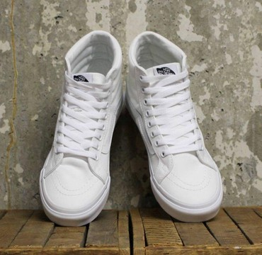 Кроссовки и спортивная обувь - Кок-Ой: Vans Sk8-Hi Slim (материал) 100% оригинал. Брал в Лондоне
