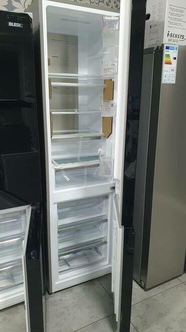 | Новый Двухкамерный | Черный холодильник LG