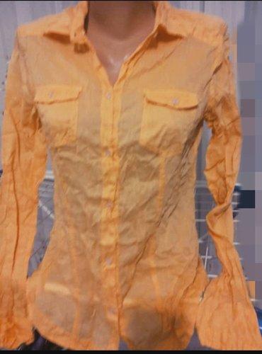 Рубашка марлевка. индия. б/у. размер 44/46 в Лебединовка
