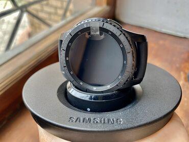 samsung gear s3 в Кыргызстан: Часы Samsung Gear S3 Frontier  В хорошем состоянии  Коробка и зарядка