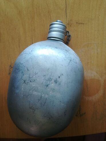 Фляжка аллюминиевая солдатская 500 сом