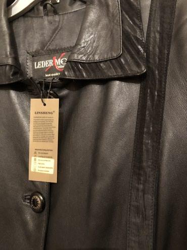 Пальто кожаное ,женское, новое с в Бишкек