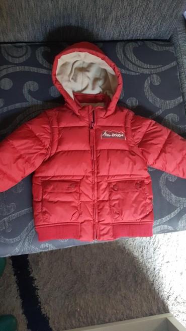 Decija zimska jakna par put obucena. skidaju se i rukavi pa se moze - Vrsac
