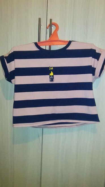 Женская одежда в Джалал-Абад: Футболочка топ размер 42-44  Город Джалал Абад