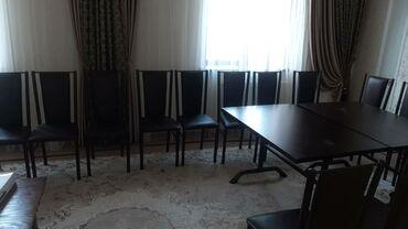 стол и стулья для гостиной в Кыргызстан: Сдаю в аренду очень красивые столы и стулья в отличном состоянии в
