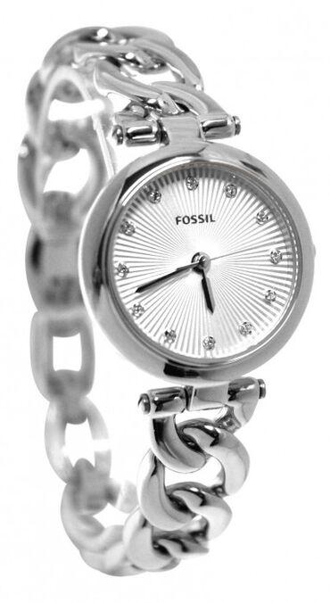 chasov fossil jr1401 в Кыргызстан: Серебристые Женские Наручные часы Fossil