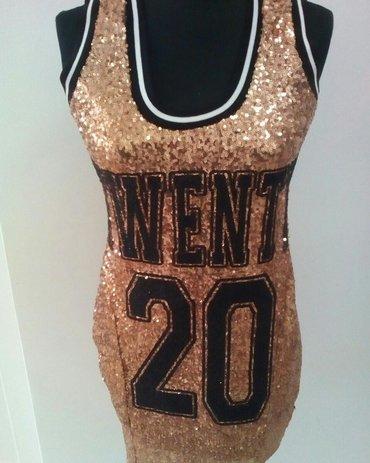 Nova zlatna haljina, M i L velicina