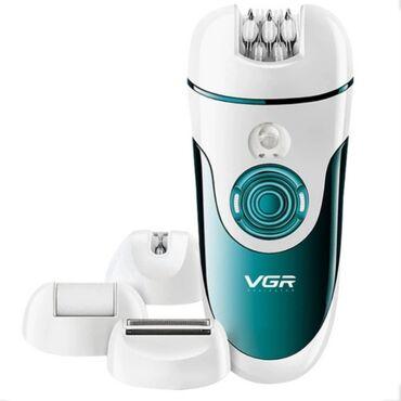 С помощью женского эпилятора VGR V-700 4 в 1 вы получаете идеальную