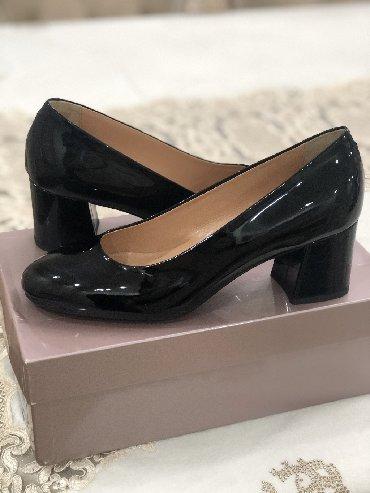 черные-женские-туфли в Кыргызстан: Новые Италия 38 размер