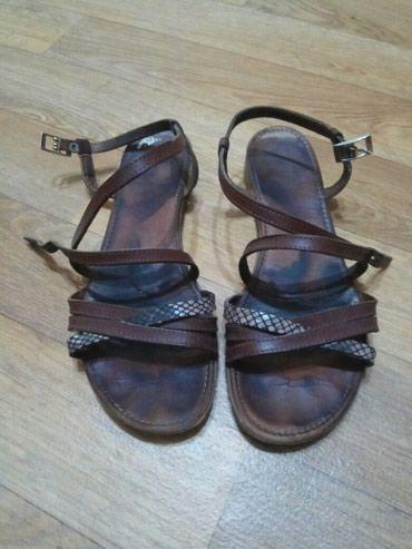 Кожаные сандалии, в отличном в Бишкек