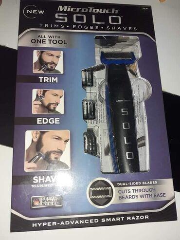 Profesionalni trimer micro touch solo 3u 1-trimer za brijanjeCENA