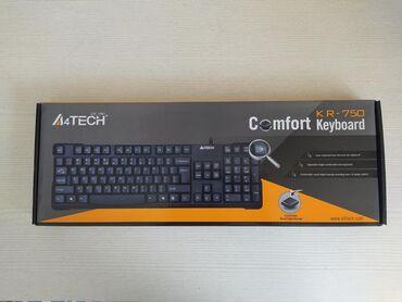 Клавиатура A4Tech KR-750Проводная клавиатура A4Tech KR-750 –