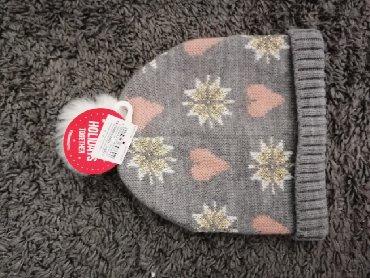 Ostala dečija odeća | Obrenovac: Nova Terranova kapa za devojčicu 12-18 mes