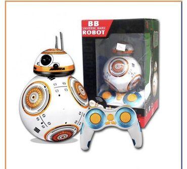 Электроника - Майлуу-Суу: Очаровательный сферический дроид BB-8, которого нам продемонстрировали